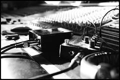 Direct Input (NickD71) Tags: fuji fujifilm xt3 advanced compact system camera apsc crop xf1855 fujinon mono monochrome music recording studio live tracking drums bass rogue wembley london uk sansamp di mixing desk mozart dof aperture tone shaping direct input control controls
