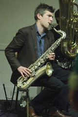 Frog & Henry (2020) 08 - Laurin Hebart (KM's Live Music shots) Tags: jazz ragtime germany froghenry laurinhebart tenorsax saxophone winningposttwickenham