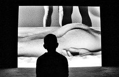 """""""Are you sure this is a Carry On film?"""".... (markwilkins64) Tags: tatebritain london uk grainy blackandwhite monochrome mono bw silhouette markwilkins"""