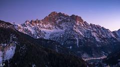 Monte civetta blue hour (104gian) Tags: blue bluehour dolomiti dolomiten landscape sunset lake lago paesaggio alleghe