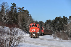 Tunnel Bird (CN Southwell) Tags: dmir missabe cn tunnel motors snow winter s curve tbird