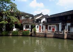 Chiny - Szanghaj (tomek034 (Thank you for the 2 200 000 visits)) Tags: zhujiajiaowatertown chiny szanghaj architektura