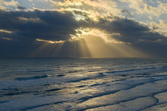 Daytona Beach Morning (Bruce Bugbee) Tags: floriday flbeachdaytonaoceanatlantic sunrise clouds waves d7200 nikon