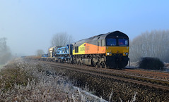 66847. (curly42) Tags: 66847 class66 colas railway freight transport keenescrossing