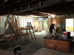 2020 - basement renovation