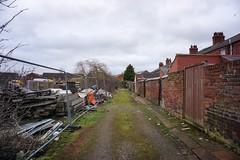 Carlisle Back Lane. 20/01/20 (Mike Orrell Photography) Tags: city walk works building back lane carlisle
