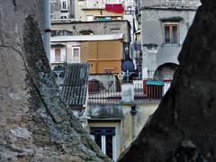 San Felice cutout (fotoflo86) Tags: naples napoli neapel italien italy italia palazzo san felice staircase stairs vano scala scale cutout ritaglio frammento run down decay