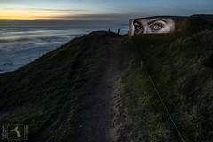 Vision REBEB (stephanegachet) Tags: france bretagne brittany ploemeur guidel sea seascape landscape paysage graff rebeb stephanegachet gachet