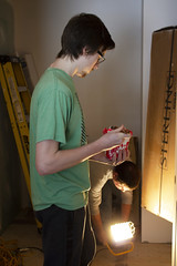 20_MLKDayofService_015 (BCC - Berkshire Community College) Tags: mlk day service 2020 students staff faculty habitat for humanity