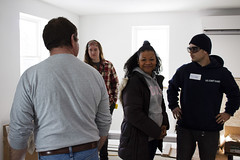 20_MLKDayofService_005 (BCC - Berkshire Community College) Tags: mlk day service 2020 students staff faculty habitat for humanity