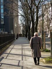 I'll be back (Dan Guimberteau) Tags: paris street people walk old outdoor sidewalk pavement