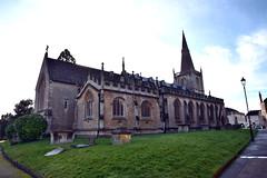 Chippenham Church (Saint Andrew) (hugh llewelyn) Tags: chippenhamchurchsaintandrew