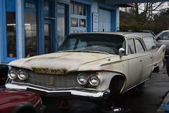 Plymouth station wagon (D70) Tags: plymouth station wagon blaine washington unitedstates foreignautoclinic