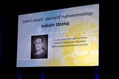 20200112172900 0693 AMS 2020 PRES FORUM ANNUAL MTG ARDESHIR EBTEHAJ EDITORS AWARD JOURNAL OF HYDROMETEOROLOGY