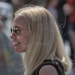 Blondie (Scott 97006) Tags: woman female lady blonde pretty beauty shades smile cute