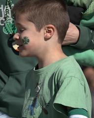 Saint Patrick's Day Attire (Scott 97006) Tags: boy kid male shamrock attire profile facepaint green