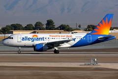 Allegiant Air | Airbus A319 | N325NV | Las Vegas McCarran (Dennis HKG) Tags: aircraft airplane airport plane planespotting canon 7d 100400 lasvegas mccarran klas las n325nv allegiant allegiantair g4 aay airbus a319 airbusa319 sharklets