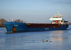 Uttum (Goolio60) Tags: ship shipping cargo coaster freighter goole port river ouse