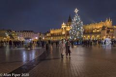 Grand Square, Krakow (PapaPiper) Tags: grandsquare krakow poland nightscape clothhall sukiennice krakówoldtown rynekgłówny christmastree