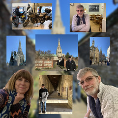 Tim's Birthday (Jainbow) Tags: chichester collage tim birthday crispins cafe cathedral jainbow