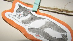 IMG_0744 'bully boy' (belight7) Tags: shridhars cat art daughter uk