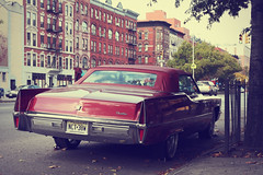 New York City - Harlem (Michael.Kemper) Tags: canon eos 30d 30 d efs 1755 17 55 f28 f 28 is usm voyage travel travelling reise vacation urlaub usa us united states america vereinigte staaten von amerika new york city ny nyc big apple car auto cadillac harlem retro vintage