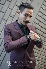 pluto-falling-orlando-photographer-portrait-carlos-5 (haidizzykid) Tags: parkave cleancut curledmustache dapper fashion flash latino male mens mobster mustache outdoors plutofalling portrait purple suave suit sunset