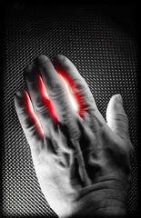 Hands of light. (CWhatPhotos) Tags: cwhatphotos flickr artistic art photographs photograph pics pictures pic picture image images foto fotos photography that have which with contain olympus omd em1o mklll em10 hand hands light red color colour colors select selective shadow partial old wrinkles wrinkley wrinkle