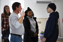 20_MLKDayofService_006 (BCC - Berkshire Community College) Tags: mlk day service 2020 students staff faculty habitat for humanity