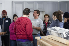 20_MLKDayofService_004 (BCC - Berkshire Community College) Tags: mlk day service 2020 students staff faculty habitat for humanity