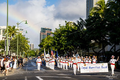 MLK parade rainbow (Frank G Cornish) Tags: rainbow mlk parade holiday martinlutherking honoluluhi