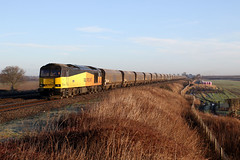 60096 6H12 bolton percy N.R. 21.01.2020 (Dan-Piercy) Tags: gbrf excolas class60 60096 boltonpercy naturereserve 6h12 tynedock drax biomass