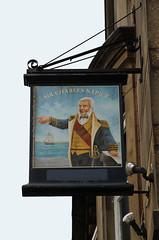 English Pub Sign - The Sir Charles Napier, Blackburn (big_jeff_leo) Tags: pubsign pub publichouse sign painted painting england english