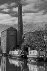 Hawkesbury Engine house on Coventry Canal (4 of 6) (Frank Samet) Tags: 2020 boats canal coventry narrowboat