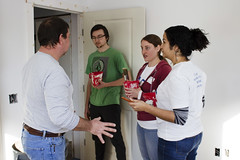20_MLKDayofService_012 (BCC - Berkshire Community College) Tags: mlk day service 2020 students staff faculty habitat for humanity
