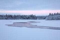 Ounasjoen Teponkari (Janne Maikkula) Tags: maisema teponkari meltaus talvi jää lumi ounasjoki joki metsä talo luonto nature river