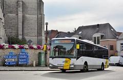 5711 341 (brossel 8260) Tags: belgique bus delijn brabant