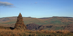 Photo of evening cairn