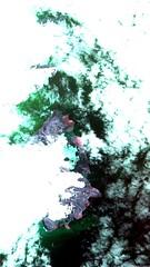 Ilha Rei George / King George Island, Antartica (Coordenação-Geral de Observação da Terra/INPE ) Tags: inpe dsr cbers4 pan10m rei george ilha antartica estaçãopolaca king island