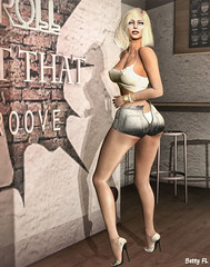 New styling 603 (bettyfl) Tags: betty bettyfl summer night plazza piata square chilly boots legs girl skin fashionista fashionlover fashion model modeling poser pose posing femme milf woman beauty sexy sensual elegant chic opensim hypergrid os hg