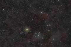 Hyades (bencbright) Tags: hyades dark nebula nebulae nebulosity longexposure astrophoto astro astrophotography star starcluster fuji fujifilm xt10 samyang samyang135mm 135mm widefield ioptron skytracker pro astropixelprocessor deepskystacker gimp taurus bull hindsvariablenebula