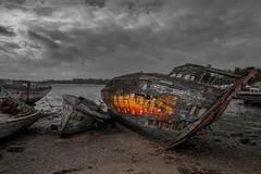 Bateau échoué, St Malo. (al wyns) Tags: minos bateau échoué archives navales st malo