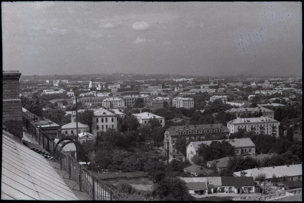 фото: Вид в сторону проспекта - Около 1965 AGFA ISOPAN ISS K54-55 35mm FS6400 [Щербина Александр Валерьевич]