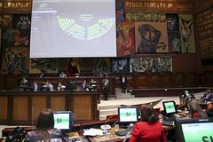 SESIÓN NO. 651 DEL PLENO DE LA ASAMBLEA NACIONAL. QUITO, 21 DE ENERO 2020. (Asamblea Nacional del Ecuador) Tags: asambleanacional asambleaecuador sesióndelpleno sesión pleno 651 votación