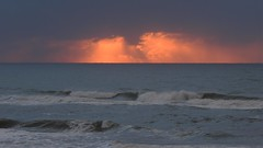 Waves (2007Plumeriya) Tags: sea sunset waves clouds