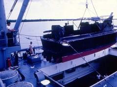 Bassac River, Vietnam, Patrol Boat, Tank Landing Ship