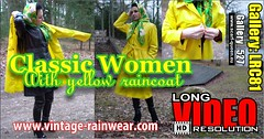 Gallery_LRC81 (Tamara silkscarf) Tags: scarfquieen scarfqueen raincoat yellowraincoat rainwear latexrainwear regenjacke regenjas klepper