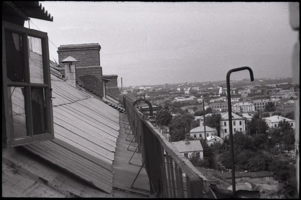 фото: Вид в сторону проспекта - Около 1965 AGFA ISOPAN ISS K44-45 35mm FS6400 [Щербина Александр Валерьевич]