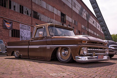 C10 Chevrolet at KKF (Willem Vernooy (FoToWillem)) Tags: c10 chevy chevrolet kustom kustomculture kustomkulture kustomkultureforever kkf zeche zecheewald ruhrpott germany hertengermany truck v8 carclubs carmeet customshow carshoot fotowillem willemvernooy ftw airride