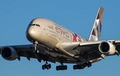 EGLL - Airbus A380 - Etihad Airways - A6-APD (lynothehammer1978) Tags: egll lhr heathrowairport heathrow londonheathrow etihadairways airbusa380 a6apd